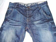 mens W36R Next twisted leg blue jeans