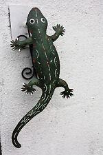 lagarto gecko Decoración Animales Decorativos Metal wohndekoration De Salón