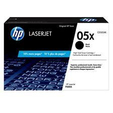 2[two] OEM HP Laserjet 05X Black cartridges -CE505X- In original unopened boxes