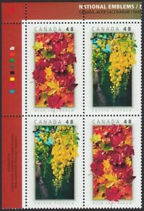 CANADA - THAILAND JOINT ISSUE = UL PB = MAPLE = EMBLEMS Canada 2003 #2000-2001