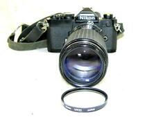 BLACK NIKON FM SLR-SIGMA HIGH-SPEED ZOOM MULTI COATED 80-200MM LNS