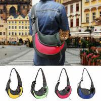 Pet Puppy Carrier Backpack Shoulder Bag Travel Tote Sling Carrier Dog Cat Cute