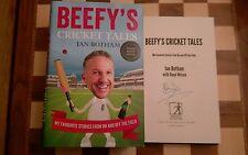 Beefy's Cricket Tales SIGNED Sir Ian Botham 1st edition 2nd impression Hardback