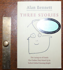 2003 Three Stories Alan BENNETT SIGNED Copy The Laying on of Hands Paperback