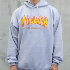 FLAME THRASHER skateboard magazine unisex HOODY HOODED pull over Sweatshirt
