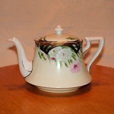Tea Pot Tirschenreuth Bavaria Porcelain Hand Painted