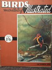 BIRDS MONTHLY ILLUSTRATED, VOL II, NO 6, OCTOBER 1956