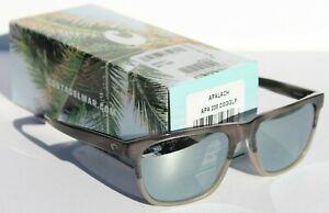 COSTA DEL MAR Apalach 580 POLARIZED Sunglasses Shiny Sand Dollar/Silver 580G NEW