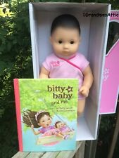 American Girl Bitty Baby Blonde Hair Blue Eyes Bb3 With 5 Outfits