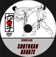 SHOTOKAN KARATE TRAINING VIDEO DVD STEP BY STEP SKILLS GUIDE BY EXPERT TEACHERS