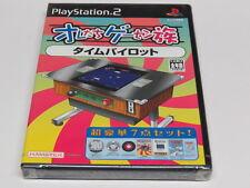 Oretachi Game Centre Time Pilot PS2 Geasen Zoku Japan JPN * Brand NEW Sealed