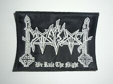 MOONBLOOD BLACK METAL EMBROIDERED PATCH