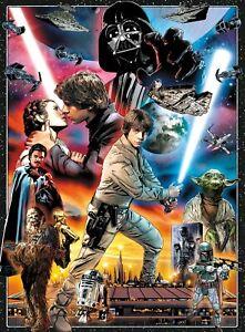 Buffalo Games Star Wars Empire Strikes Back 30th Anniv. 1000 Pc Jigsaw Puzzle