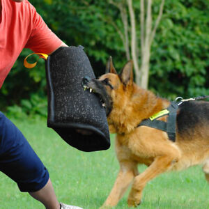 K9 Dog Bite Sleeve for Training Young Police Dogs Schutzhund Full Arm Protection