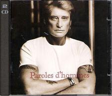 "JOHNNY HALLYDAY: DOUBLE CD ""PAROLE D'HOMME"""