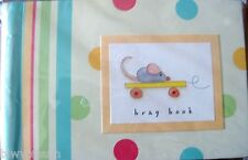 """Pepperpot Pull Toys Baby'S Brag Book -Holds 24- 4"""" X 6"""" Photos-Great Gift"""
