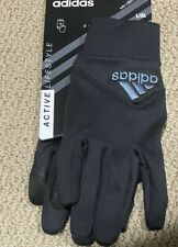 NEW Adidas Active Lifestyle Climawarm Thermal Running Gloves Men's Sz L/XL Black