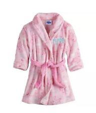 Peppa Pig Light Pink Belted Plush Fleece Robe Toddler Girl Size 3T NEW