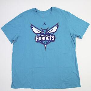 Charlotte Hornets Nike Jordan Short Sleeve Shirt Men's Teal New with Tags