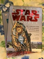 Inside The World Of Star Wars The Phantom Menace & Attack Of The Clones ,2 Books