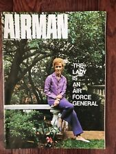 """Vintage Air Force Magazine """"THE AIRMAN"""" - September 1971"""
