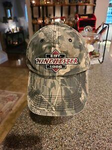 WINCHESTER CAMO BASEBALL STYLE CAP.