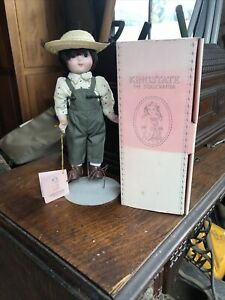 Vintage Kingstate Dollcrafter Doll With Box And Stand