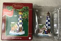 Carlton Cards Heirloom Santa By The Sea Lighted Ornament 2003 Christmas Holiday