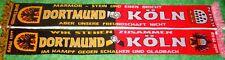 """Dortmund Köln Schal """"Freundschaftsschal"""" 1 Kurve Block DO Kurve Fan 100% Acryl+"""