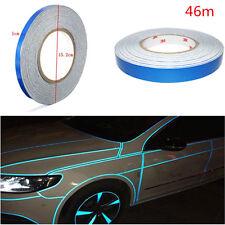 "Blue Reflective Sticker Tape Car Auto Body Stripe DIY Self Adhesive 0.4"" x 150''"