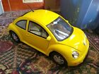 """New Bright Volkswagen Beetle Radio Controlled Yellow 1:6 Giant 26"""" w/ Remote"""