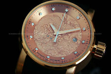 New Invicta S1 YAKUZA 18 K Rose Gold Plated NH35 AUTOMATIC 24 Jewels Poly Watch