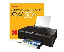 Kodak Verite 65/60 ECO Wireless All One Inkjet Printer Ink Saver Copy Scan AIO
