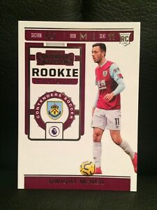2019-20 CHRONICLES CONTENDERS SOCCER ROOKIE TICKET [ DWIGHT McNEIL ] BURNLEY