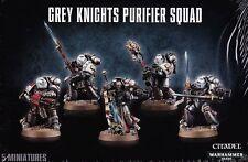 Grey Knights Strike Squad Small Games Workshop Warhammer 40.000 GW 40k 57-07