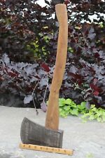 Vintage Axe Long Wood Handle Eagle Edge Tool Co Brades - Yorkshire Dales Reclaim