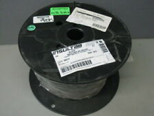 """1 Spool Anixter 3/4"""" Hs105 Black 100Ft Tagged Insulgrip Hs-105 Pvc Wire & Cable"""