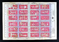 1934 New York City Map Manhattan East Central Park 5th-1st Ave St. Ignatius 83rd