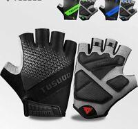 Cycling Gloves Non-slip Mtb Mountain Bike Half Finger Men Summer Bicycle Gym
