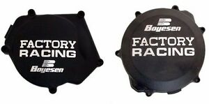 Boyesen Clutch & Ignition Cover Black Yamaha YZ250 YZ 250 99-18 CC-32AB SC-32AB