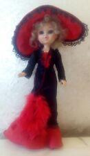 Bambola FURGA Made in italy cm 30 vintage anni 60 doll poupe collezione Natale