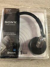 Sony DR-BTN200 Black Headband Headsets Bluetooth Wireless Google Play