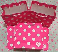 Victoria's Secret Pink Party Gift Bags Small (Set of 5)