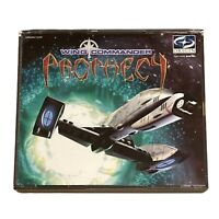 Wing Commander Prophecy PC CD Disk Windows 95 Space Combat Simulation Untested
