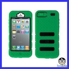 GECKO Glow Tradie - Heavy Duty Tough case, Glow in the Dark, iPhone 5/5s, GREEN