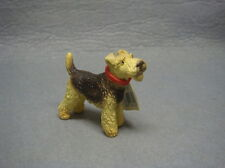 RARE! Retired Schleich Dog Dogs Animal Model Fox Terrier With Tag Figure 16310