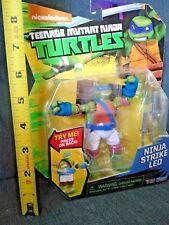 "Nickelodeon Teenage Mutant Ninja Turtles Strike Leo 5"" Action Figure Toy NEW"