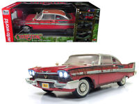 Autoworld 1:18 Christine 1958 Plymouth Fury Diecast Dirty Rusted Version AWSS119
