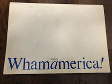 WHAMAMERICA PROGRAM 1985 Wham George Michael Andrew China Wham! Whispersounds