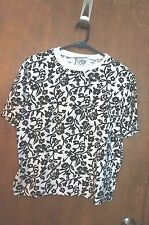 "WOMEN'S VINTAGE ""CLOTHHER"" CREW NECK T SHIRT : SIZE M"